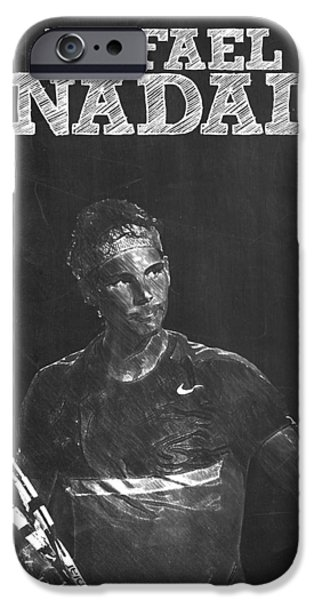 Rafael Nadal IPhone 6s Case by Semih Yurdabak