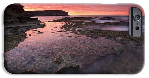Kangaroo iPhone 6s Case - Red Sky At Morning by Mike  Dawson
