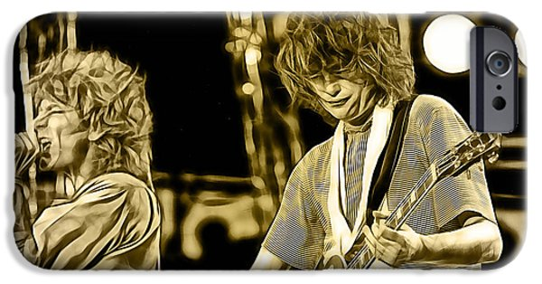 Robert Plant And Jimmy Page IPhone 6s Case by Marvin Blaine