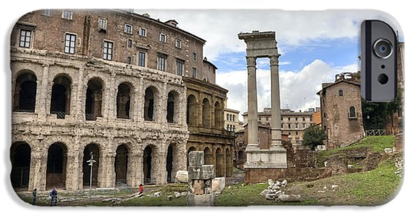 Rome - Theatre Of Marcellus IPhone Case by Joana Kruse