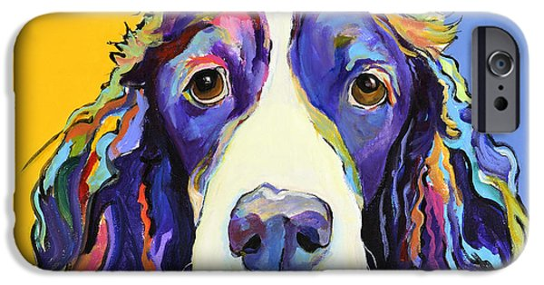 Dog iPhone 6s Case - Sadie by Pat Saunders-White
