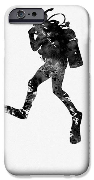 Scuba Diving iPhone 6s Case - Scuba Diving by Erzebet S