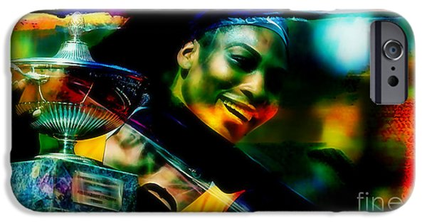 Serena Williams iPhone 6s Case - Serena Williams by Marvin Blaine