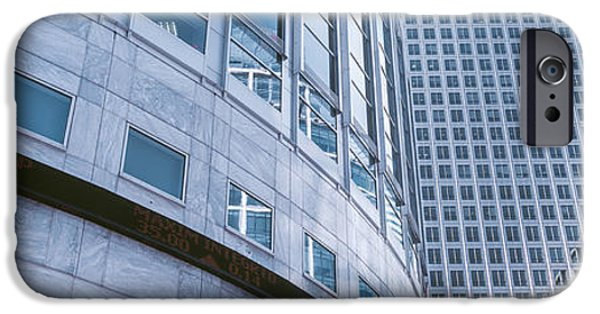 Skyscrapers In A City, Canary Wharf IPhone 6s Case by Panoramic Images