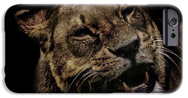 Orangutan iPhone 6s Case - Orangutan Smile by Martin Newman