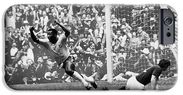 Soccer: World Cup, 1970 IPhone 6s Case by Granger