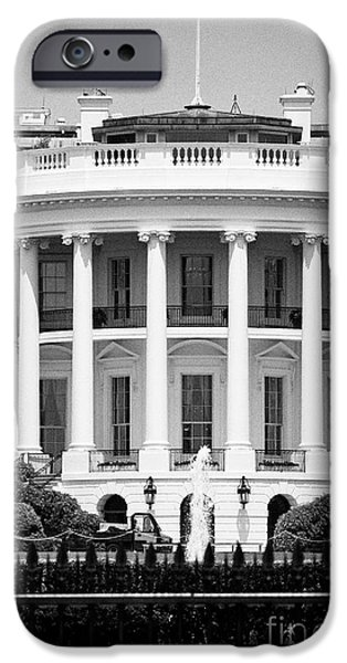 Whitehouse iPhone 6s Case - south facade of the white house Washington DC USA by Joe Fox