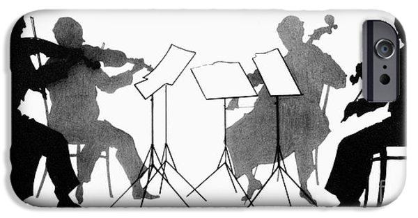 Violin iPhone 6s Case - String Quartet, C1935 by Granger