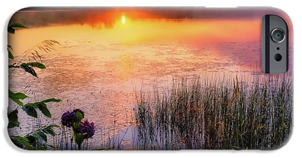 IPhone 6s Case featuring the photograph Summer Sunrise Square by Bill Wakeley