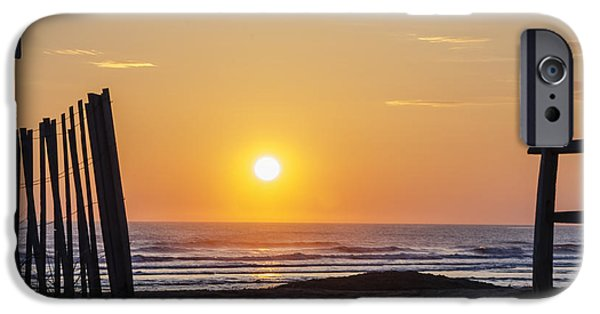 Sunrise In New Jersey IPhone Case by Bill Cannon