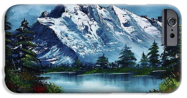 Mountain iPhone 6s Case - Take A Breath by Barbara Teller