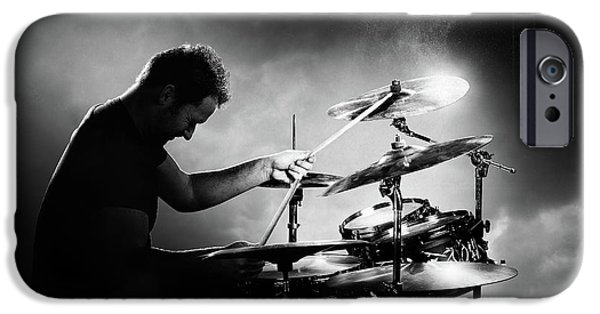 Drum iPhone 6s Case - The Drummer by Johan Swanepoel