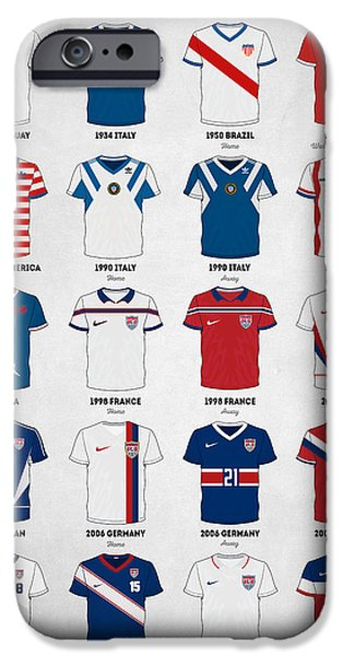 The Evolution Of The Us World Cup Soccer Jersey IPhone 6s Case