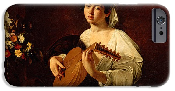 Music iPhone 6s Case - The Lute-player by Caravaggio
