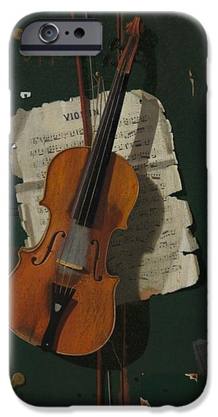 Violin iPhone 6s Case - The Old Violin by Mountain Dreams