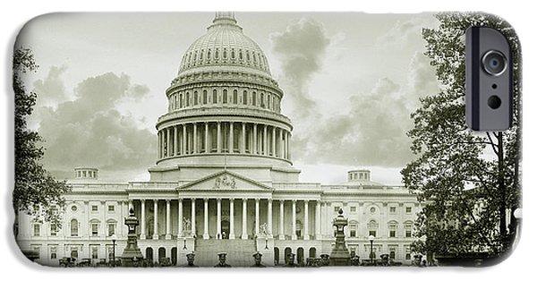 Whitehouse iPhone 6s Case - The Presidents Club by Jon Neidert