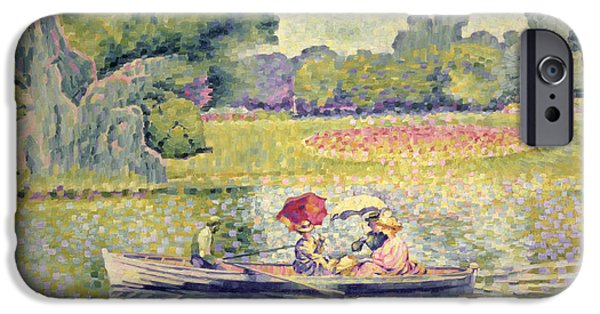 The Promenade In The Bois De Boulogne IPhone 6s Case by Henri-Edmond Cross
