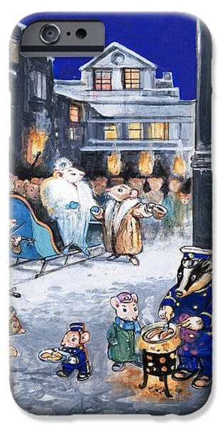 The Town Mouse And The Country Mouse IPhone 6s Case by Philip Mendoza