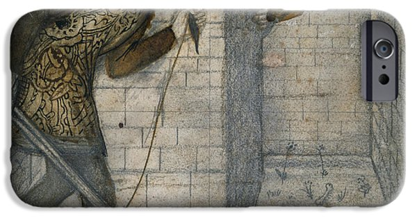 Theseus And The Minotaur In The Labyrinth IPhone 6s Case by Edward Burne-Jones