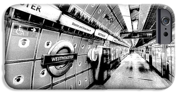Underground London Art IPhone 6s Case by David Pyatt