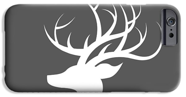 White Deer Silhouette IPhone 6s Case