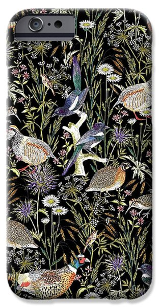 Woodland Edge Birds IPhone 6s Case by Jacqueline Colley