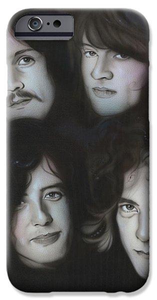 Robert Plant iPhone 6s Case - Zeppelin by Christian Chapman Art