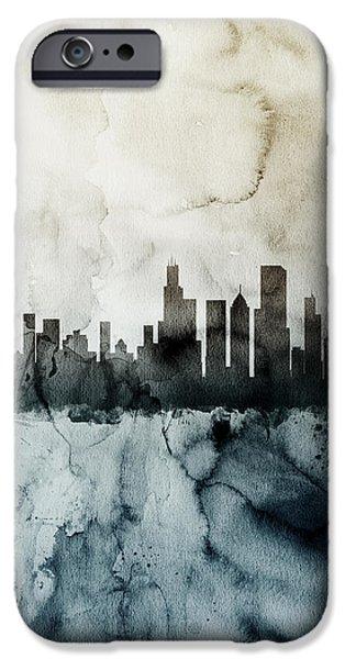 Chicago Illinois Skyline IPhone 6s Case by Michael Tompsett