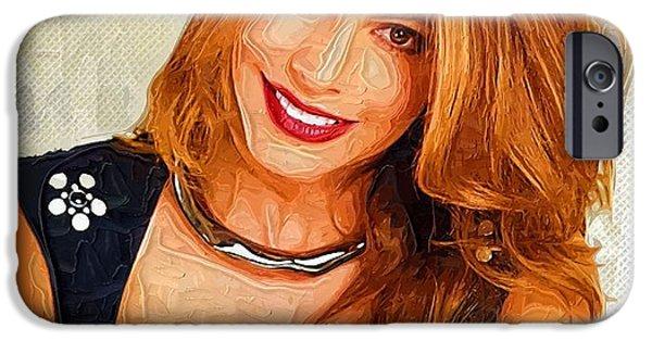 Shakira iPhone 6s Case - Actress Sofia Vergara  by Elizabeth Simon