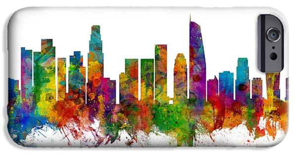 Los Angeles California Skyline IPhone 6s Case