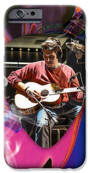 Guitar iPhone 6s Case - John Mayer Art by Marvin Blaine