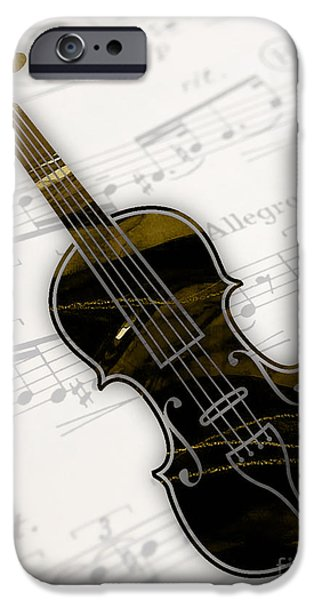 Violin iPhone 6s Case - Violin Collection by Marvin Blaine
