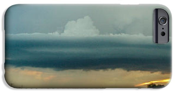 Nebraskasc iPhone 6s Case - Mid Season Nebraska Supercell by NebraskaSC