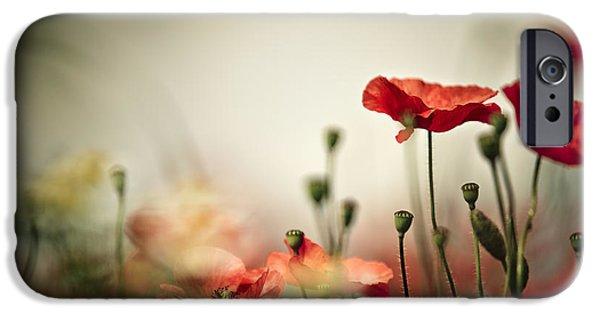 Vegetables iPhone 6s Case - Poppy Meadow by Nailia Schwarz