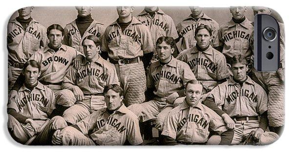 1896 Michigan Baseball Team IPhone 6s Case