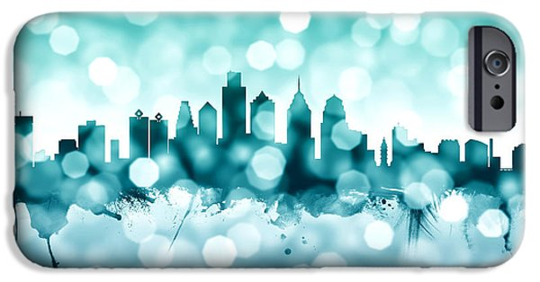 Philadelphia Pennsylvania Skyline IPhone 6s Case by Michael Tompsett