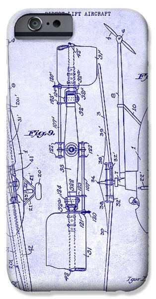 1935 Helicopter Patent Blueprint IPhone 6s Case