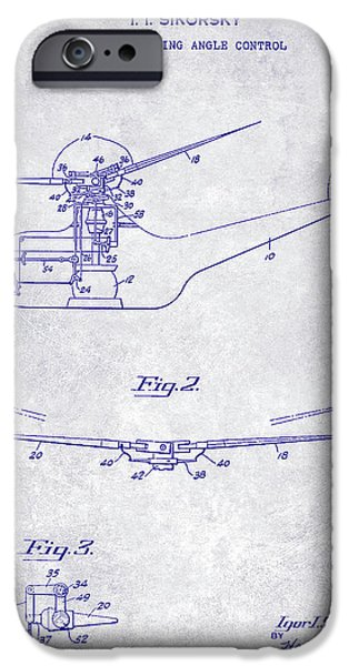 1947 Helicopter Patent Blueprint IPhone 6s Case