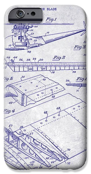 1949 Helicopter Patent Blueprint IPhone 6s Case