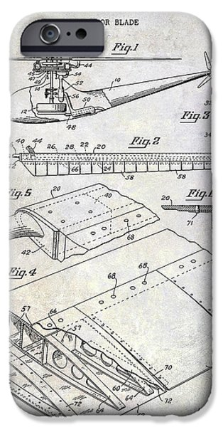1949 Helicopter Patent IPhone 6s Case