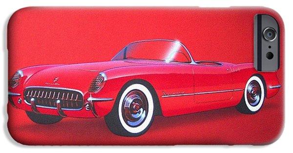 1953 Corvette Classic Vintage Sports Car Automotive Art IPhone 6s Case