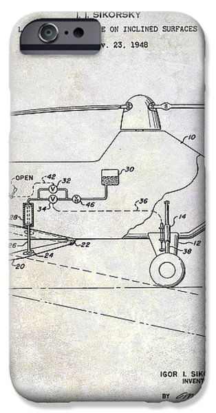 1953 Helicopter Patent IPhone 6s Case