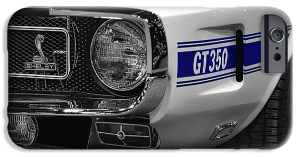 1969 Ford Mustang Shelby Gt350 1970 IPhone Case by Gordon Dean II