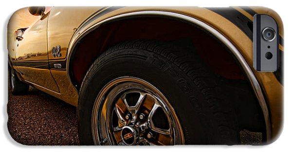 1970 Oldsmobile Cutlass 4-4-2 W-30  IPhone Case by Gordon Dean II