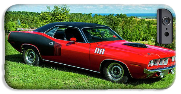 1971 Plymouth IPhone 6s Case by Performance Image