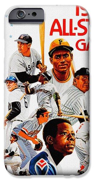 1974 Baseball All Star Game Program IPhone 6s Case
