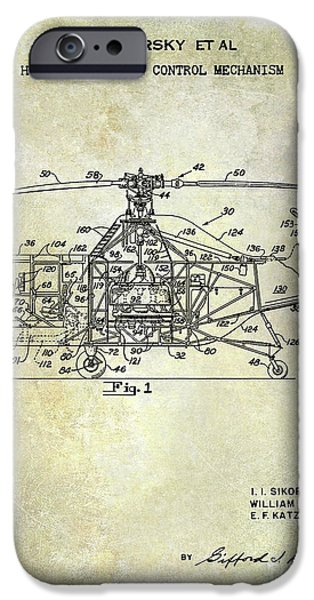 1950 Helicopter Patent IPhone 6s Case