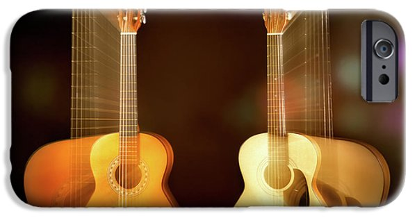 Acoustic Overtone IPhone 6s Case by Leland D Howard