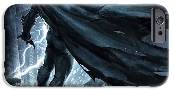 Knight iPhone 6s Case - Batman The Dark Knight Returns 2012 by Geek N Rock