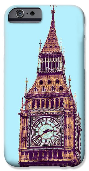 Big Ben Tower, London  IPhone 6s Case by Asar Studios